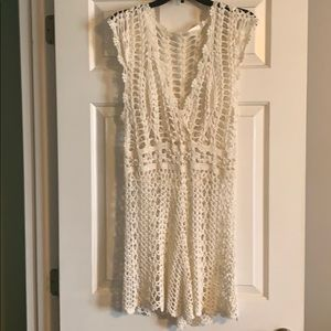 Other - Crochet Bathing Suit Coverup. Size Large.